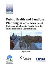 Photo-Public Health and Land Use Planning - Cover