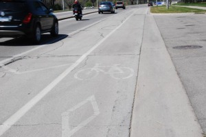Bike Lane, Burlington KP