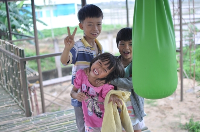 Credit: Kristie Daniel, Kids Playing in a Park, Hoi An, Vietnam