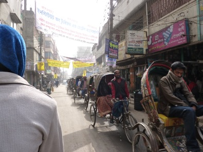 Credit: Kristie Daniel, Rickshaws, Dhaka, Bangladesh